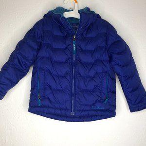 L.L.Bean boy's size 4 puffer down snow jacket.